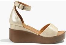 Sandały złote Juana