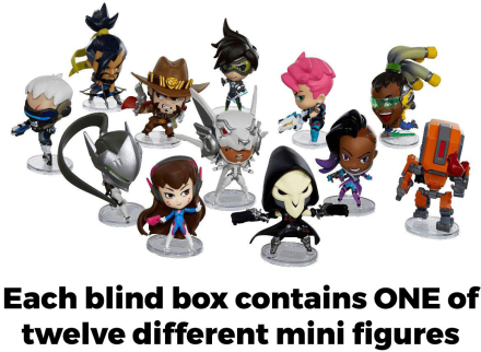 Cute but Deadly Mini Figures - Overwatch Series 3