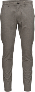 Shharval Sand Mix Slim St Pants Noos