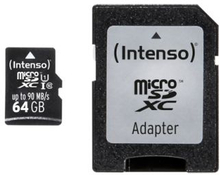 Intenso Intenso Micro SD 64GB UHS-I Professional