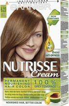 Garnier Nutrisse Creme 6.23 Latte Deep Golden Dark Blonde 1 kpl