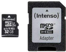 Intenso Intenso Micro SD 32GB UHS-I Professional