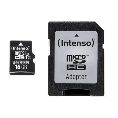 Intenso Intenso Micro SD 16GB UHS-I Professional