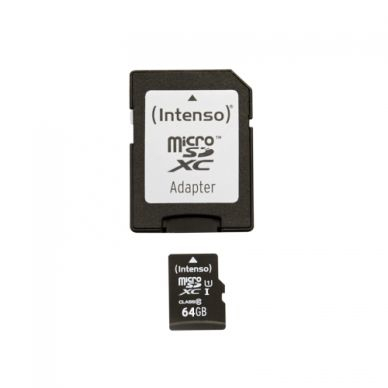 Intenso Intenso Micro SD 64GB UHS-I Premium