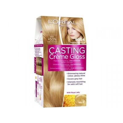 L'Oreal Casting Creme Gloss 8034 Honey Nougat 1 kpl