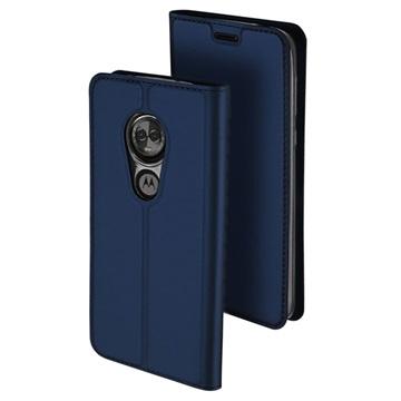 Dux Ducis Skin Pro Motorola Moto E5, Moto G6 Play Flip Taske - Mørkeblå