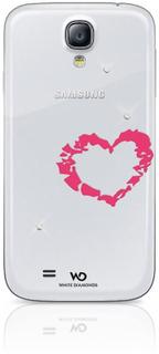 White Diamonds WHITE-DIAMONDS Lipstick Samsung S4 Heart Rosa