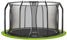 Salta trampolin med net - Royal Baseground Inground - Ø 427 cm