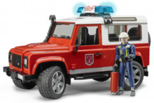 Land Rover Defender Fire Department