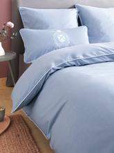 Bettbezug ca. 135x200cm Grand Design blau