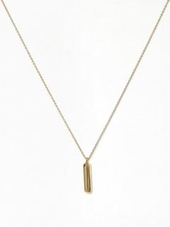 Marc Jacobs Bubbly Pendant Gold Halsband L