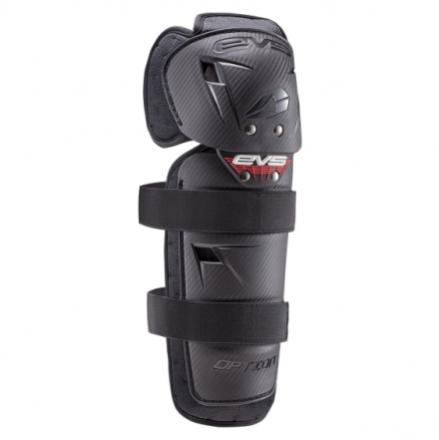 EVS Option Knee Guard Youth - Black