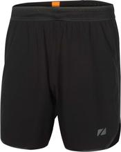"Zone3 7"" Men's Run Shorts Black/Gun metal"