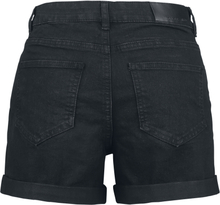 Noisy May - Be Lucy Fold Shorts -Shorts - svart