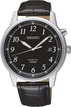 Seiko Men's Kinetic Analogue Uhr SKA781P1 - Schwarz