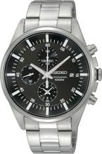 Seiko Men's Quartz Chronograph Stainless Steel Uhr SNDC81P1
