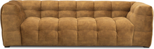 Troels Nova 3-sits soffa - Guld sammet