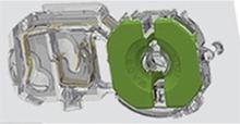 LYSRÖRSHÅLLARE G13 FAU-13-TR