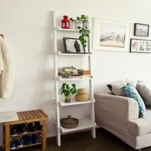 SoBuy FRG17 Modern Ladder Shelf Made of Wood with Five Floors, stand shelf