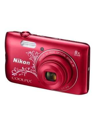 Coolpix A300 - Red Pattern