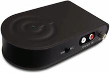 Qnect RIAA förstärkare med AC-adapter