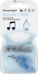 SwedSafe Musiikki / Uinti Korvatulpat Large, 1 pari