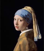 Steve Art Gallery Girl with a Pearl Earring er,Johannes Vermeer,46.5x40cm
