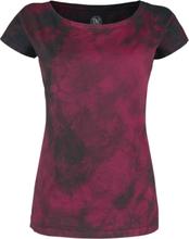 Outer Vision - Marylin -T-skjorte - rød, svart