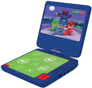 PJ masker transportabel DVD spelaren lila (modell nr DVDP6PJM)