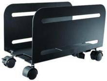 Trolley PC Mount (Suitable PC Dimensions - Width: 12-21 cm) - Black - cart
