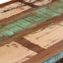 vidaXL Kirjoituspöytä kierrätetty puu 140x50x77 cm