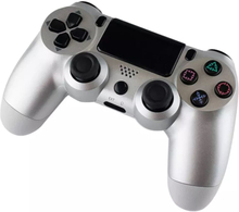eStore Trådlös PS4 Kontroll - Silver