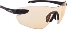 Alpina Twist Five Shield RL VL+ Cykelbriller, black matt-orange 2020 Briller