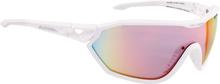 Alpina S-Way QVM+ Cykelbriller, white matt 2020 Briller