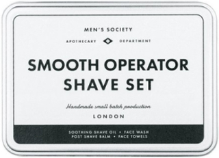 Men's Society Shave set Rakning Black