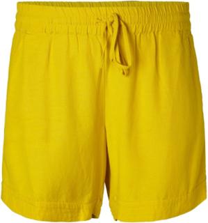 JUNAROSE Loose Fit Shorts Kvinder Gul