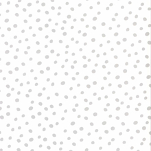 Fabulous World Tapet Dots vit och grå 67106-1