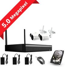 CCTV-reseller 5MP övervakningssystem med 2 kameror (SONY sensors) inkl. allt