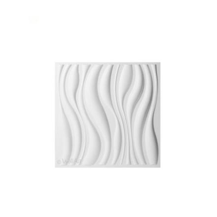 WallArt 3D vægpaneler med bølgedesign 12 dele GA-WA04
