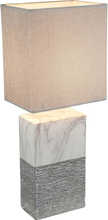 GLOBO Bordslampa JEREMY keramik 15x12x41 cm 21643T
