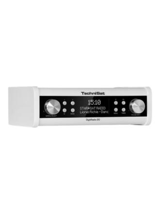 Clock radio DigitRadio 20 Under cabinet DAB + and FM kitchen radio - DAB/DAB+/FM - Mono - Hvid