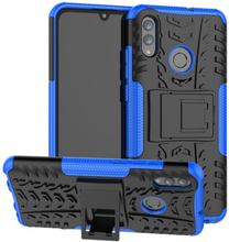 Huawei P Smart 2019 Anti-Slip Hybrid Etui - Blå