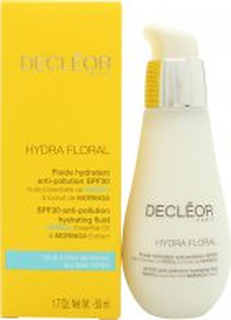 Decleor Hydra Floral Anti-Pollution Hydrating Fluid SPF30 50ml