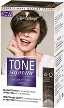 Köp Tone Supreme, 4-0 Medium Brown Schwarzkopf Toning fraktfritt