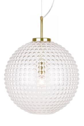 Globen Lighting Spring Taklampa Klar/Mässing XL