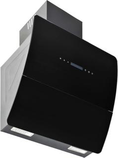 vidaXL vægmonteret emhætte rustfrit stål 756 m³/t. 60 cm sort
