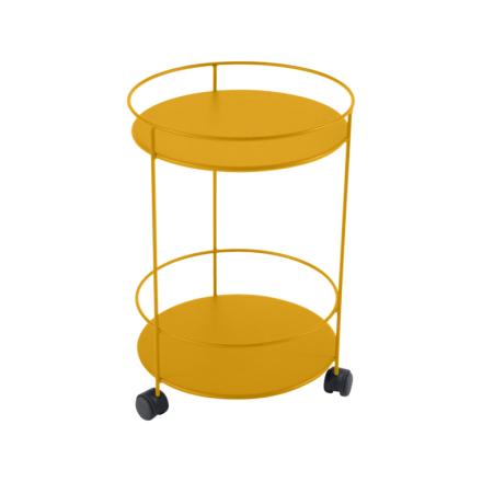 Fermob Guinguette Metall Bord med Hjul-Honey