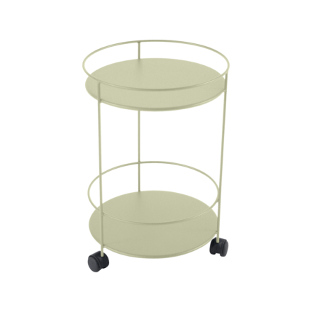 Fermob Guinguette Metall Bord med Hjul-Willow Green