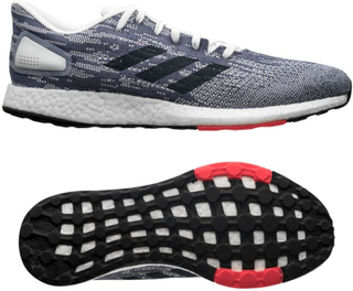 adidas Löparskor Pure Boost DPR - Vit/Navy/Röd