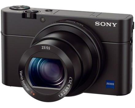 Sony Cyber-shot DSC-RX100 III Sort (DSCRX100M3.CE3)